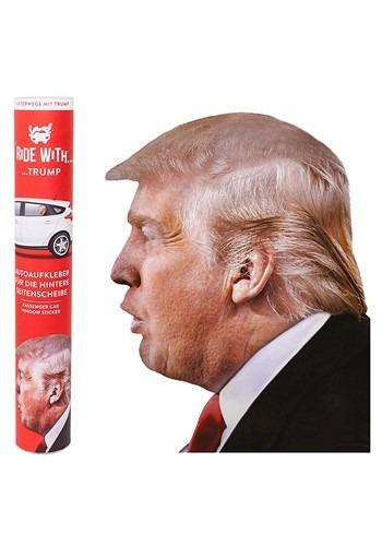 Ride with Trump Easy Peel Passenger Window Sticker