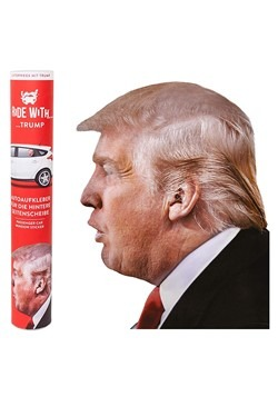Ride with Trump Easy Peel Passenger Window Sticker