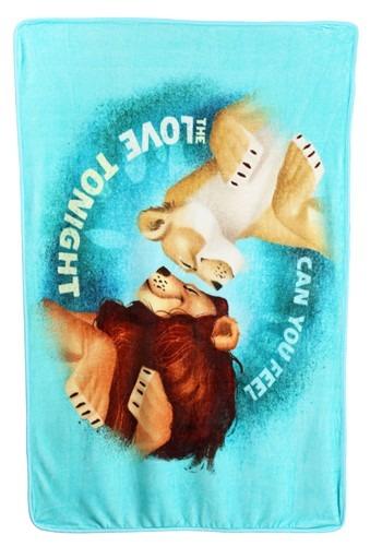"Lion King Feel the Love 40"" x 60"" Super Soft Throw"