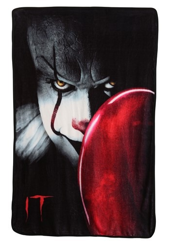 "IT Chapter 2 Nice Clown 40"" x 60"" Super Soft Throw"