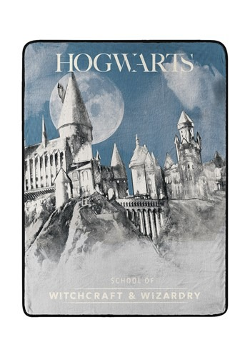 Wizarding World of Harry Potter Witchcraft Wizardry Throw