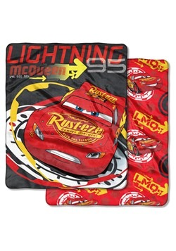 Cars Lightning McQueen Double Sided Cloud Throw