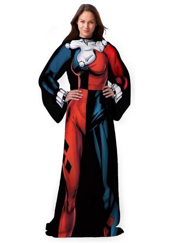 Harley Quinn Adult Comfy Throw