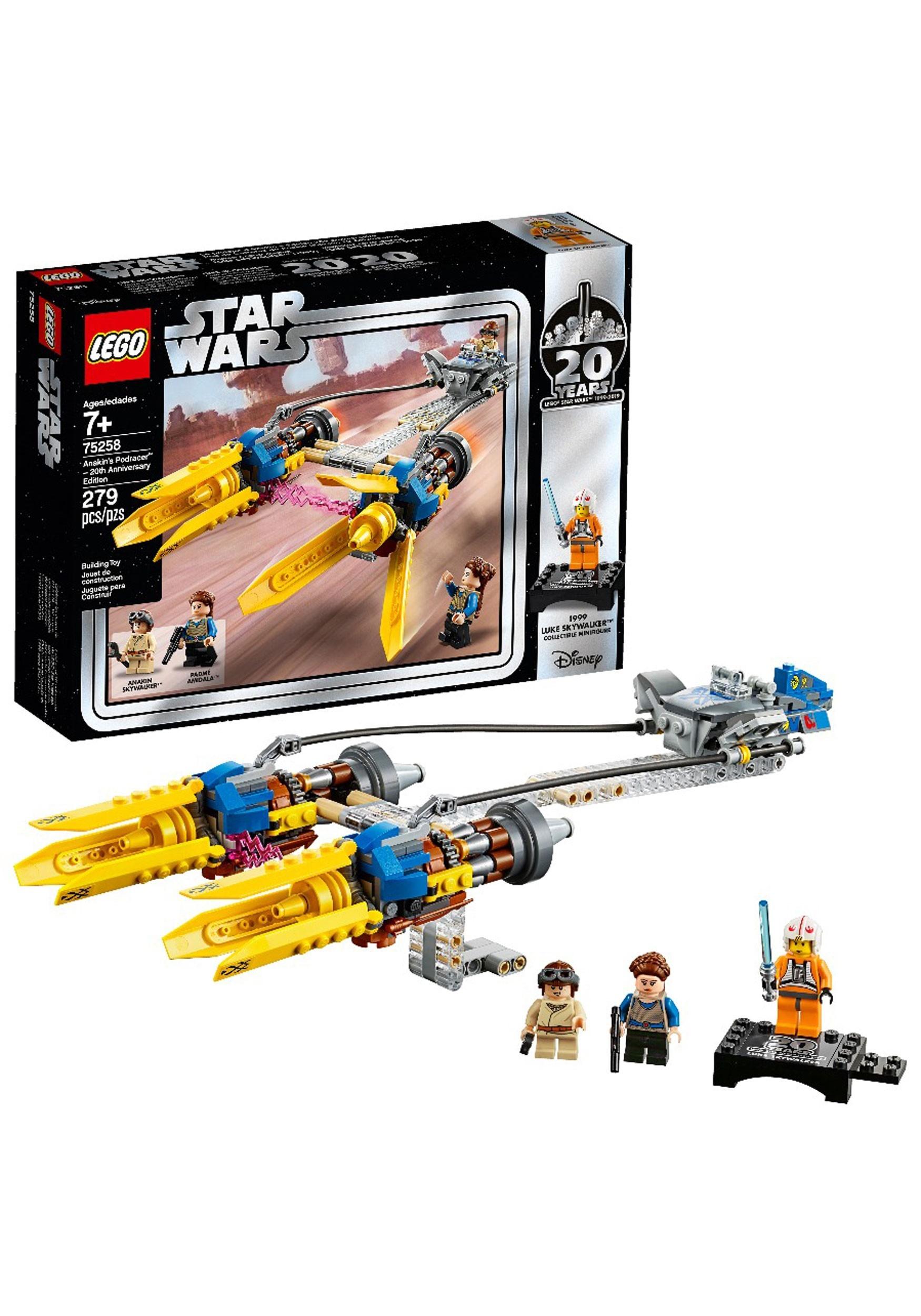 Lego 20th Edition Podracer Anakins Anniversary Wars Star eYWDEH9I2