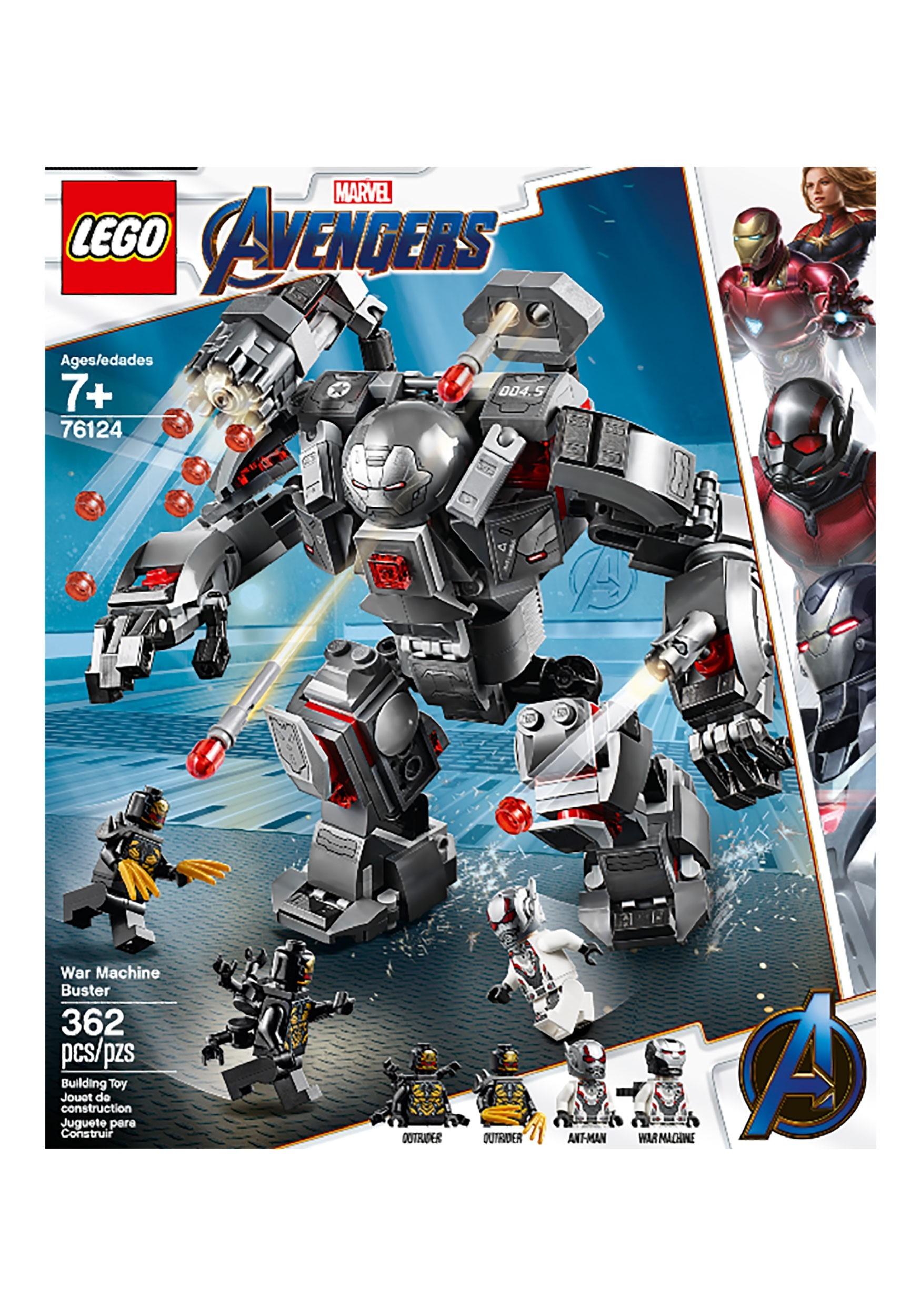 Lego Buster Machine Avengers War Machine Buster Lego War IgY7vbf6my