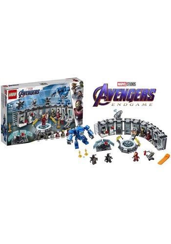 LEGO Avengers Iron Man Hall of Armor Building Set