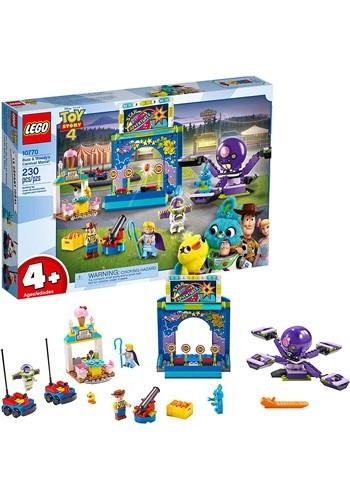 LEGO Toy Story 4 Buzz & Woody's Carnival Mania!