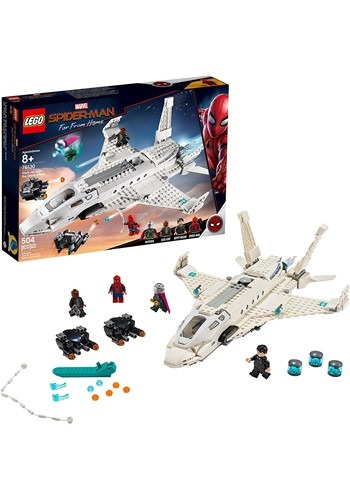 LEGO Spider-Man Far From Home Stark Jet and the Drone Attack