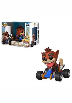 Pop! Rides: Crash Team Racing- Crash Bandicoot