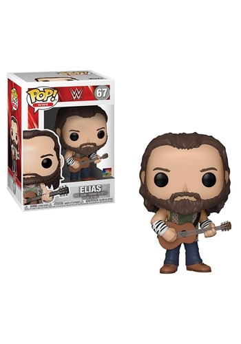 Pop WWE Elias with Guitar Figure