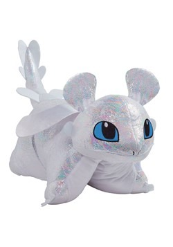 Pillow Pets How to Train Your Dragon Light Fury Plush
