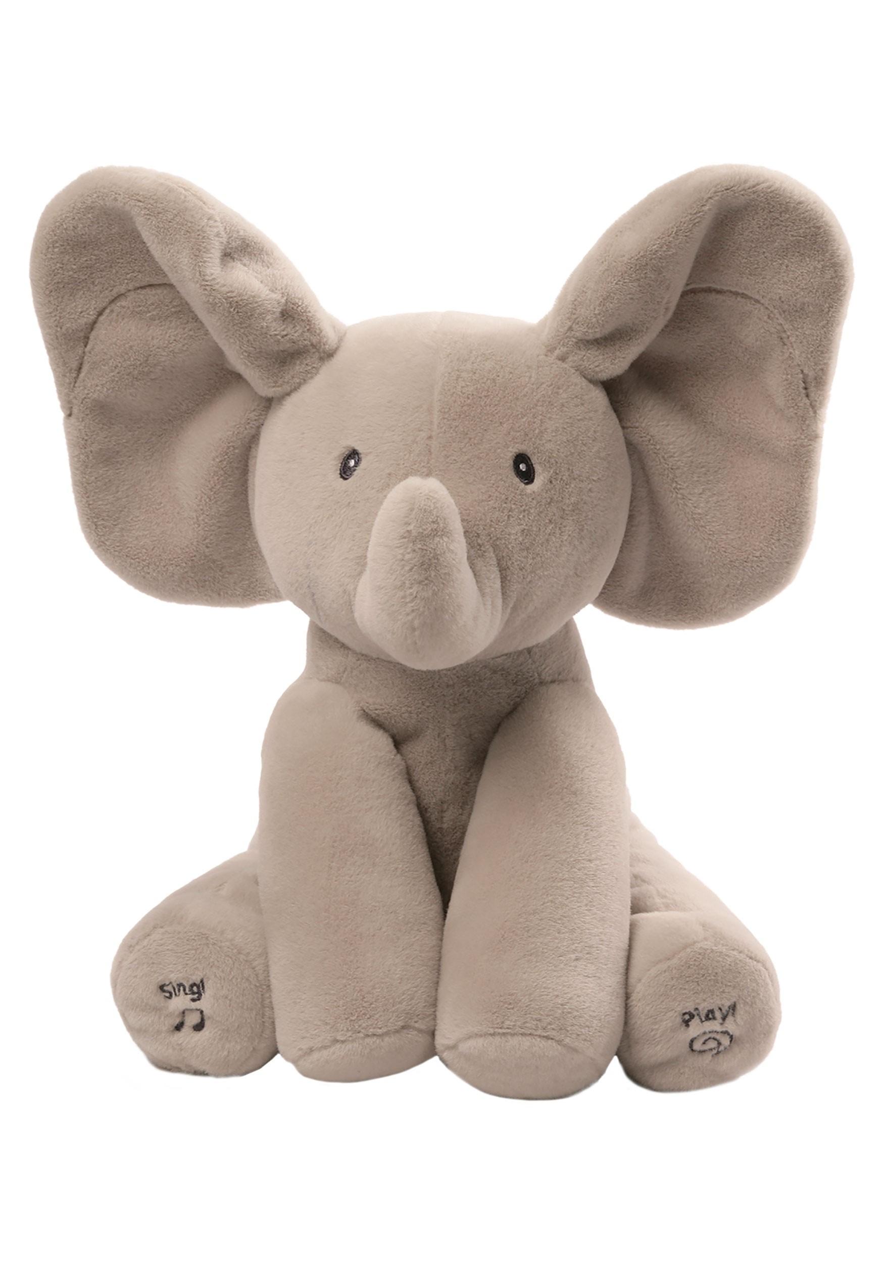 Stuffed Flappy the Elephant