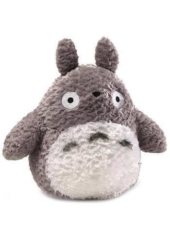 "Medium Fluffy Totoro 9"" Plush"