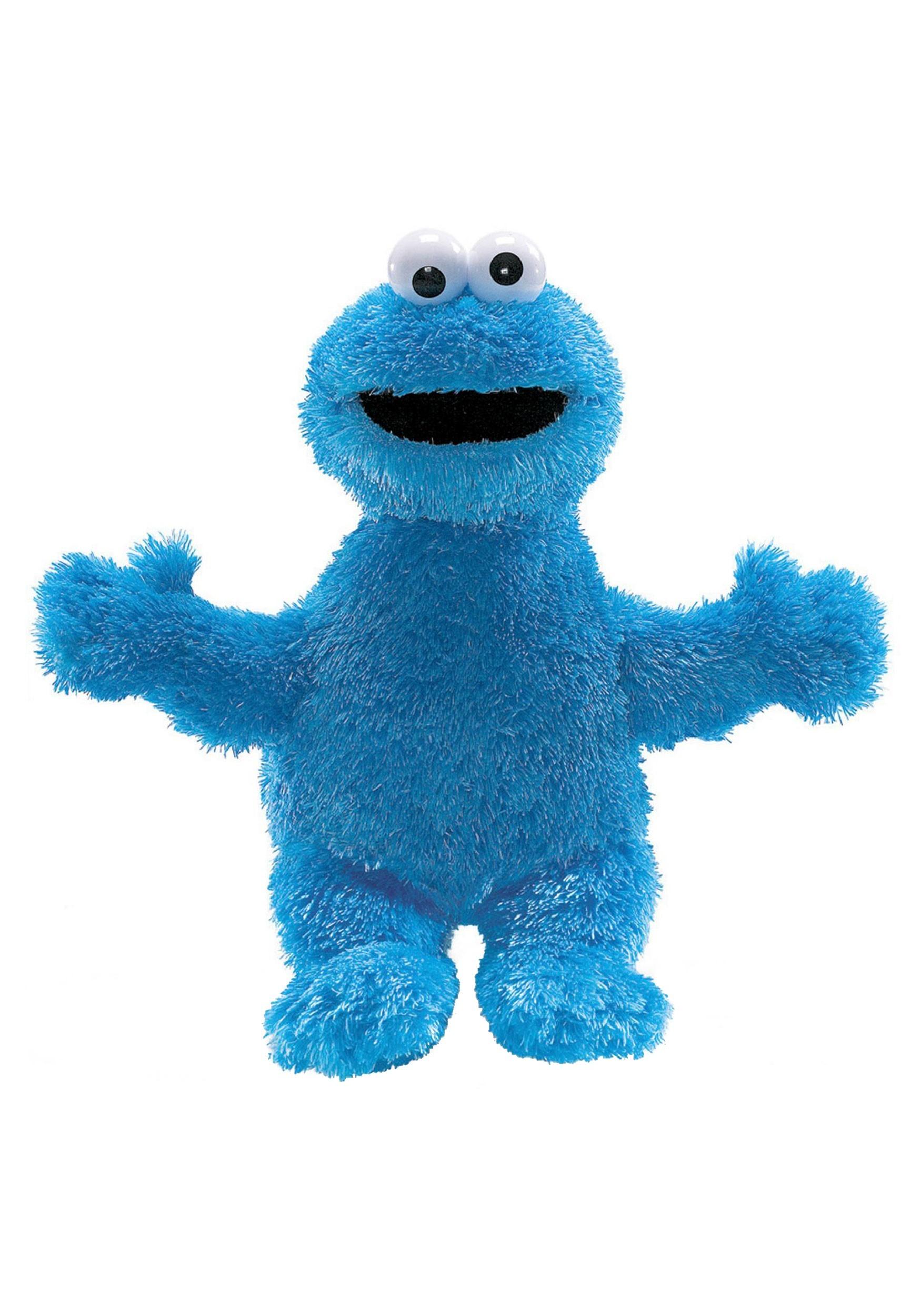 Stuffed Figure Cookie Monster