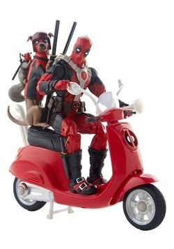 Marvel Legends Ultimate Deadpool w/ Vehicle Action Figure