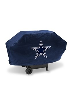 NFL Dallas Cowboys Deluxe Vinyl Padded Grill Cover