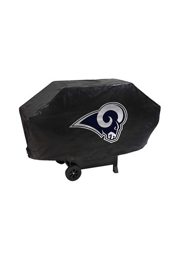 Los Angeles Rams Deluxe Vinyl Padded NFL Grill Cover