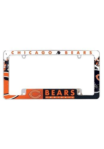 NFL Chicago Bears SPARO Chrome License Plate Frame
