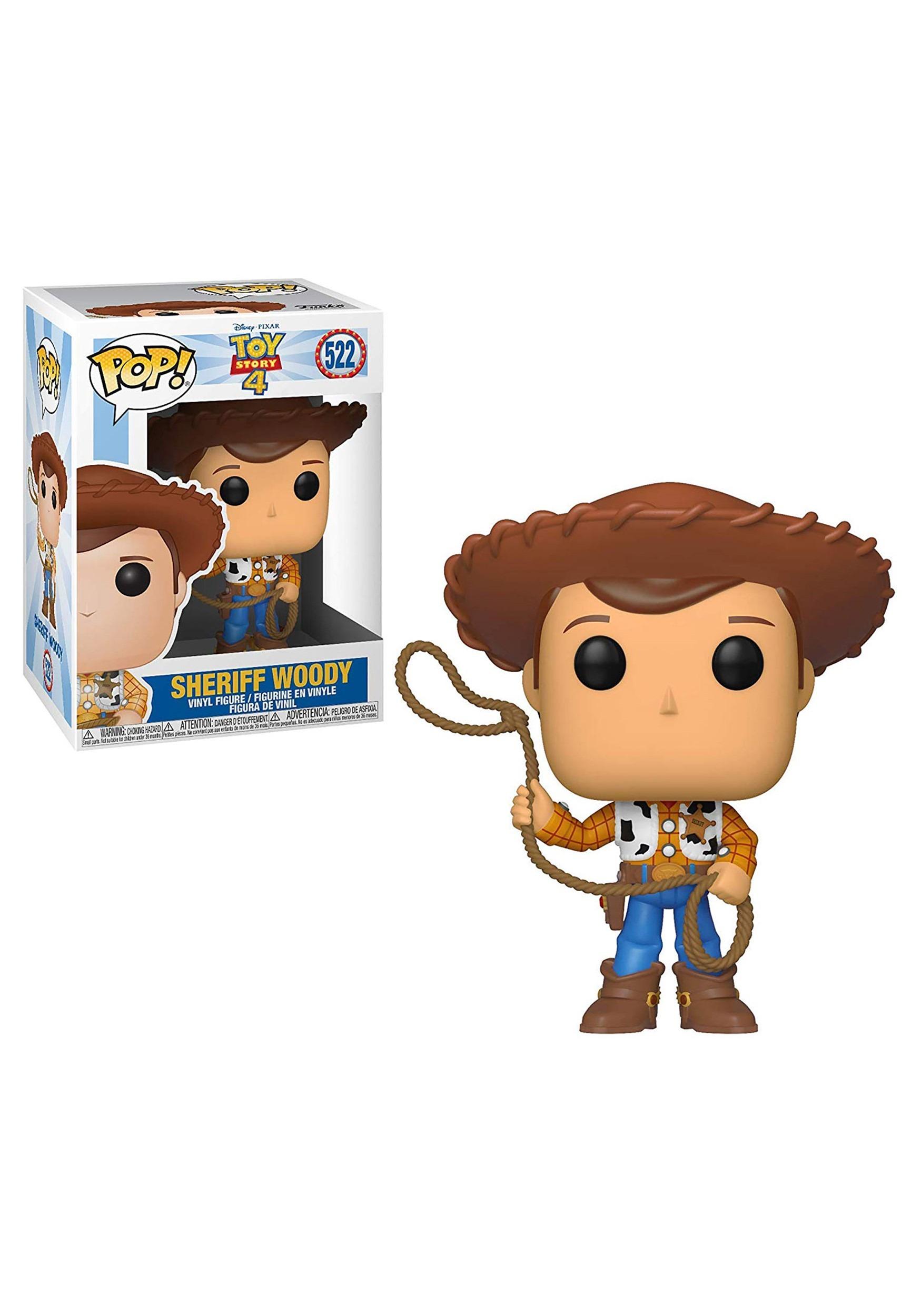 Woody Pop Toy Story 4