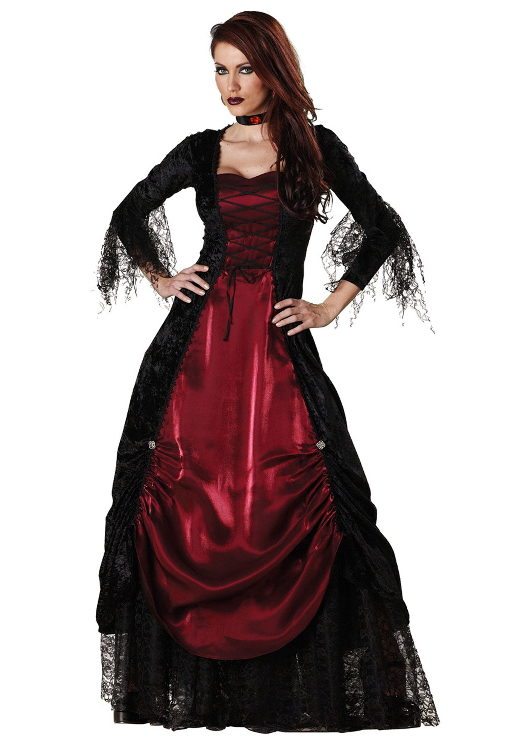 Womenu0027s Gothic Victorian V&ire Costume  sc 1 st  Fun.com & Gothic Victorian Vampire Costume for Women