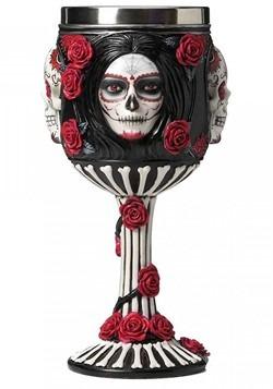 Sugar Skull Goblet 19 5cm