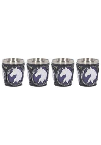 Set of 4 Unicorn Elixir Shot Glasses