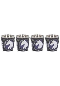 Unicorn Elixir Shot Glass (Set of 4) 6.5cm