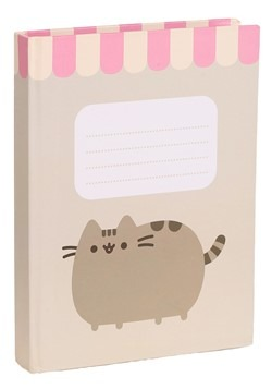 Pusheen Scalloped Hardcover Notebook