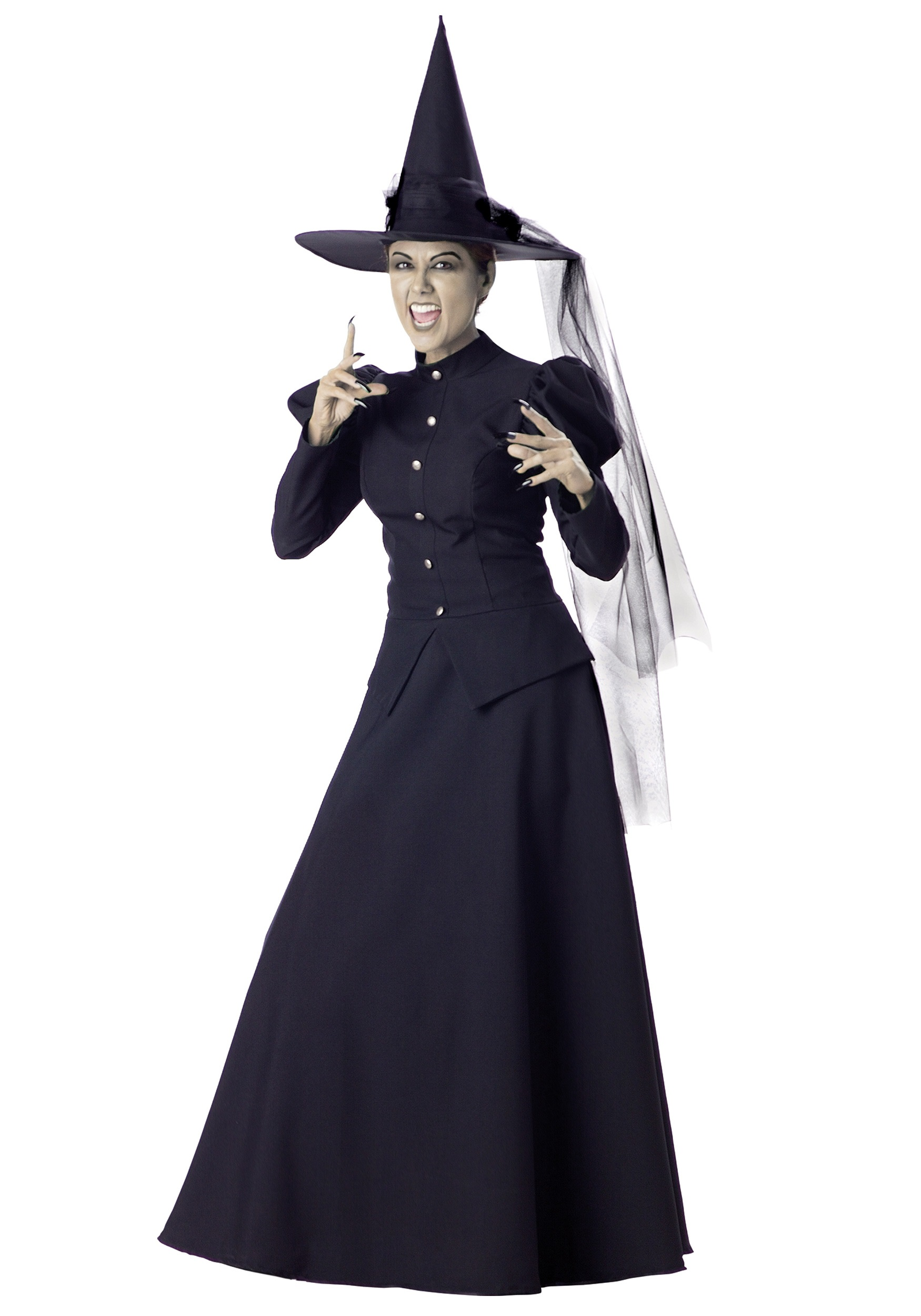Womenu0027s Scary Witch Costume  sc 1 st  Fun.com & Scary Witch Costume for Women