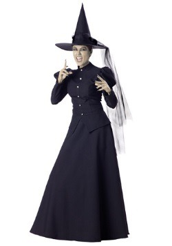 Women's Scary Witch Costume