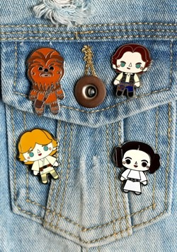 Star Wars EP 4 4 Pack Enamel Pin Set from Loungefly