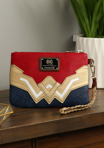 Loungefly Wonder Woman Faux Leather Wristlet Wallet Update 2