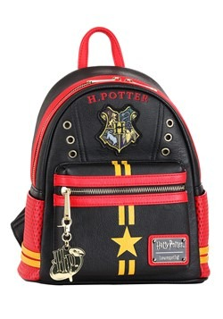 Harry Potter Quidditch Uniform Faux Leather Backpack