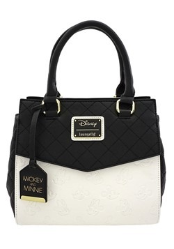 Loungefly Disney Mickey & Minnie Mouse Faux Leather Tote Han