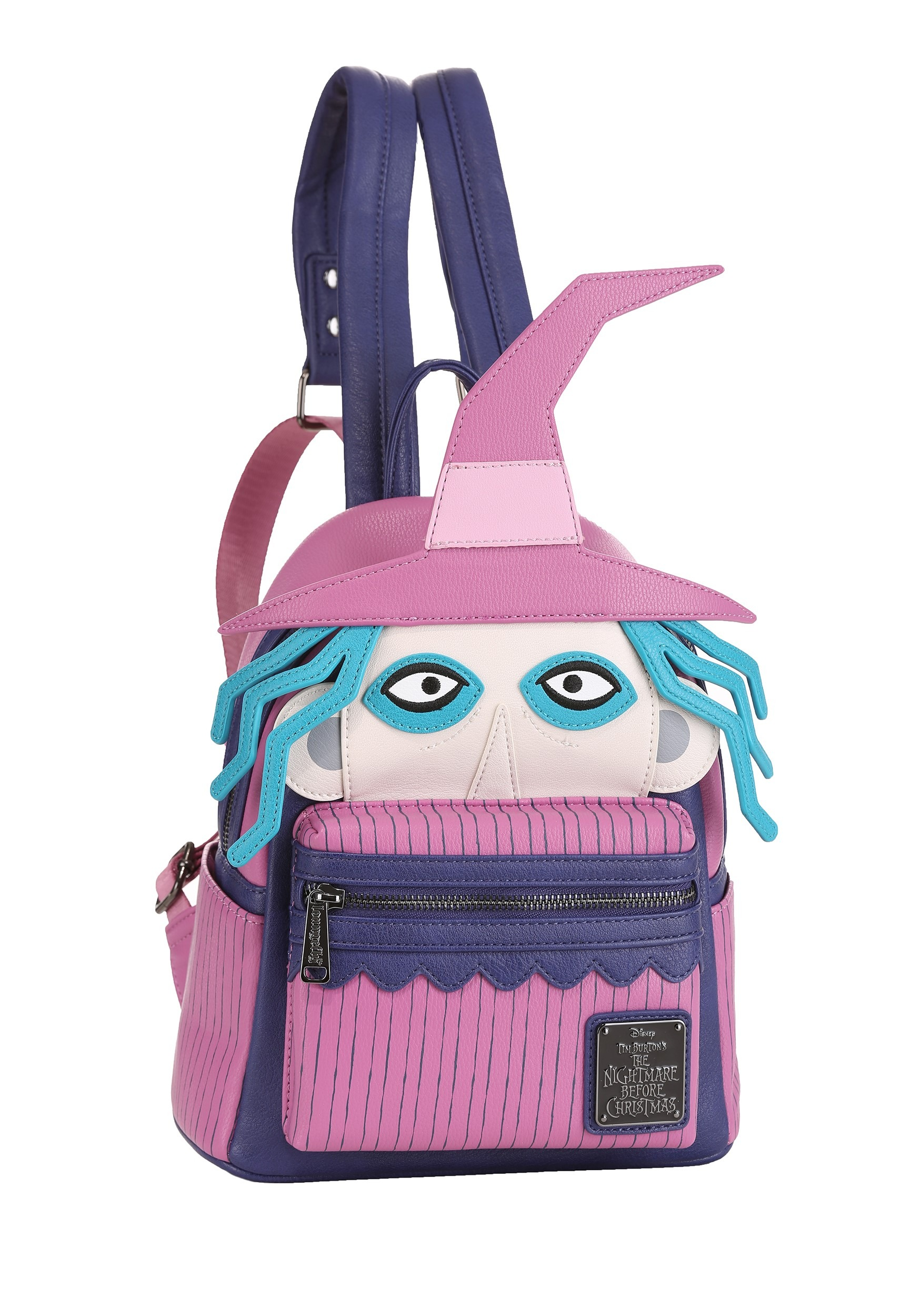 presenting best service good quality Loungefly Nightmare Before Christmas Shock Mini Backpack Faux Leather