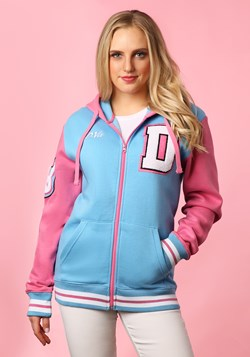 Overwatch: Varsity D.Va Zip-Up Hooded Sweatshirt upd