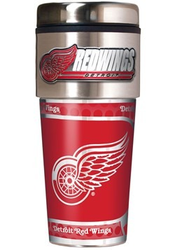 Detroit Red Wings 16 oz Tumbler with Metallic Graphics