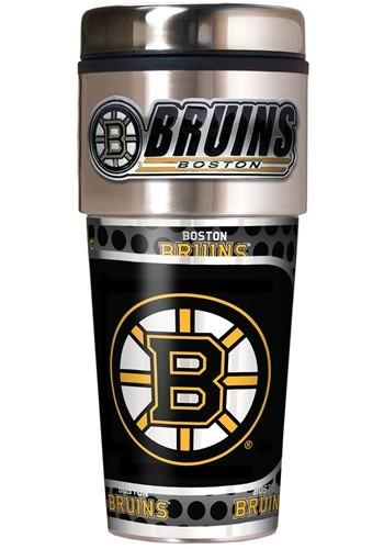 NHL Boston Bruins 16 oz. Tumbler w/ Metalic Graphics