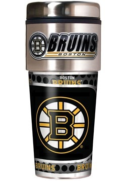NHL Boston Bruins 16 oz. Tumbler w/ Metalic Graphics