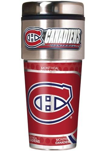 Montreal Canadiens 16 oz Metallic Graphics NHL Tumbler