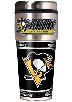 Pittsburgh Penguins 16 oz Tumbler with Metallic Graphics