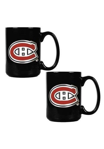 NHL Montreal Canadiens 15oz. Ceramic Mug Gift Set
