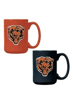 NFL Chicago Bears 15oz. Ceramic Mug Gift Set