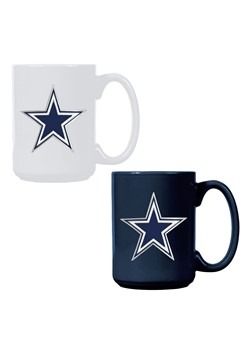 NFL Dallas Cowboys 15oz. Ceramic Mug Gift Set