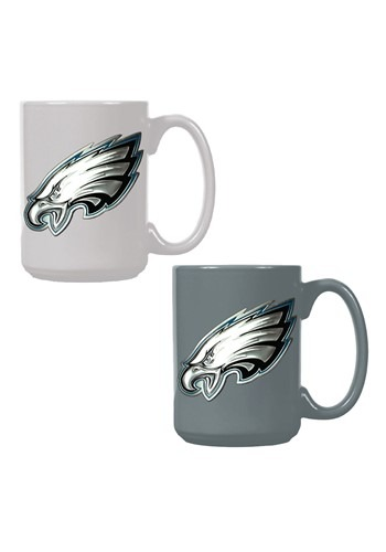 NFL Philadelphia Eagles 15oz. Ceramic Mug Gift Set