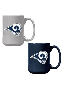 NFL Los Angeles Rams 15oz. Ceramic Mug Gift Set