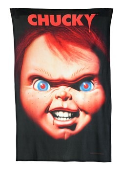 "Child's Play Chucky Poster 36"" x 58"" Fleece Blanke"