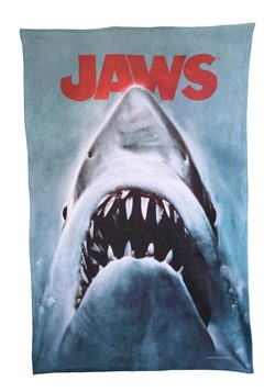 "Jaws Poster 36"" x 58"" Fleece Blanket"
