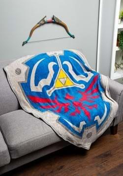 Legend of Zelda Fleece Shield Throw_update