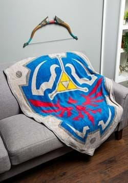 Legend of Zelda Fleece Shield Throw